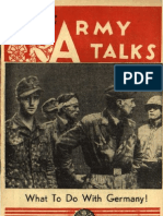Army Talks ~ 10/28/44