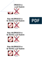 Alergia Leche y Huevo