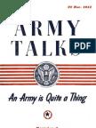 Army Talks ~ 03/22/44