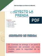 Proyecto La Prenda