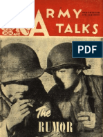 Army Talks ~ 03/10/45