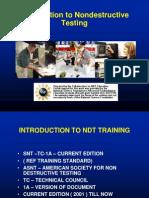 Non destructive testing Introduction