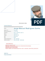 20071227 curriculum Jorge Cunha