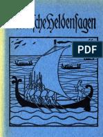 Schondorff, Paul - Nordische Heldensagen (78 S., Scan, Fraktur)
