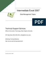 2007 in Termed Excel