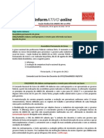 Informativo Online n° 33