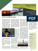 Energy Times Aug 2012