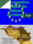 Presentazione Balcani Occidentali-UE