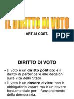Il Diritto Di Voto