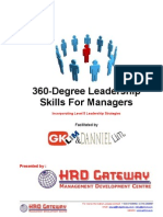 360-Degree Leadership Skills for Managers inhouse program facilitated by G K Lim and Danniel Lim