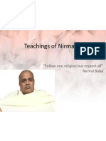Respect All Religions says Nirmal Baba