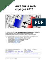 Regards sur la webcampagne 2012