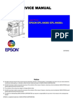 Epson EPL-N4000_4000+ Rev B Service Manual