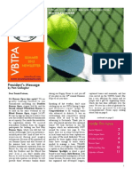 VBTPAnewsletter Summer 2012