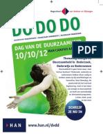 Flyer HAN Dag Van De Duurzaamheid 10-10-12