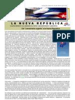 LNR 46 (Revista La Nueva Republica) Cuba CID 14 Agosto 2012
