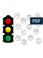 Traffic Light Obedience Activity