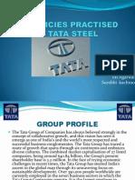 36880957 Hr Policies Practised by Tata Steel