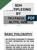 Sdh Multiplexing