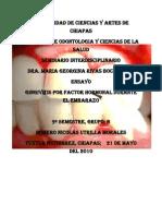 Ensayo Embarazo y Gingivitis - Homero Nicolas Noveno Semestre Grupo b