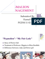 Pygmalion in Management
