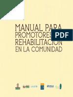 Manual para Promotores de Rehabilitación en la Comunidad