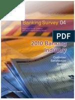 KPMG 2010 Banking Survey Report Brochure