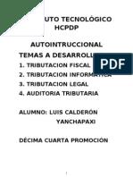 Auto Intruccional legislacion lñaboral