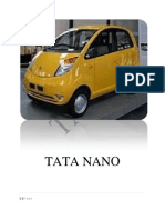 The Tata Nano is a City Car Manufactured by Tata Motors.docxshreshi