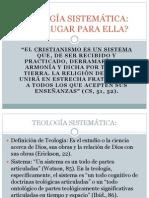 Teología Sistemática - Citas EGW