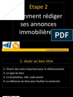 formation Comment Rediger Ses Annonces Immobilieres