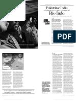 India-Pakistán en disputa por el Río Indo