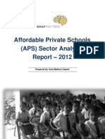 APS Sector Analysis Report - Aug 2012