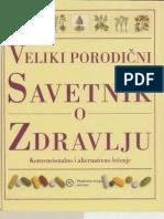 Veliki porodični savetnik o zdravlju-Konvencionalno i alternativno lečenje-Mladinska knjiga Beograd
