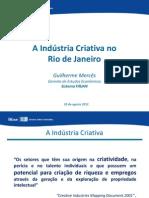 A Indústria Criativa no Rio de Janeiro