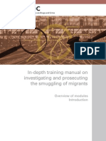 Manual on Investigating and Prosecuting the Smuggling of Migrants