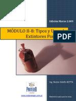 Tipos y Usos de Extintores Portatiles