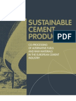 Sustainable Cement Production Brochure