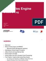 Java Rules Engine Praesentation Jazoon 01