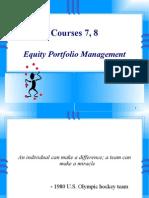 C7 8 Equity Portfolio Management
