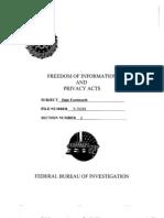 FBI Files on Ralph Dale Earnhardt Sr