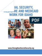 Social Security, Medicare and Medicaid Work For Idaho 2012