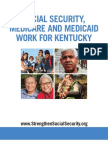 Social Security, Medicare and Medicaid Work For Kentucky 2012
