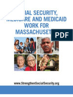 Social Security, Medicare and Medicaid Work For Massachusetts 2012