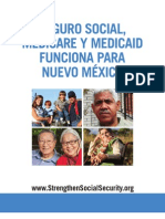 Social Security, Medicare and Medicaid Work For New Mexico (Spanish) 2012