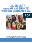 Social Security, Medicare and Medicaid Work For North Carolina 2012