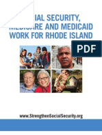 Social Security, Medicare and Medicaid Work For Rhode Island 2012