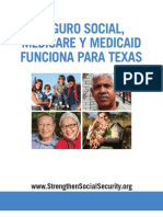 Social Security, Medicare and Medicaid Work For Texas (Spanish) 2012