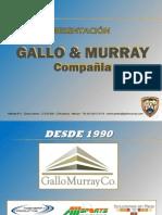 Gallo Murray Enero 2011