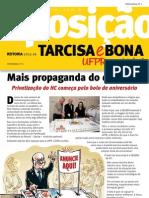 Informativo Tarcisa e Bona UFPR pra Valer | Edição número 2, 2012